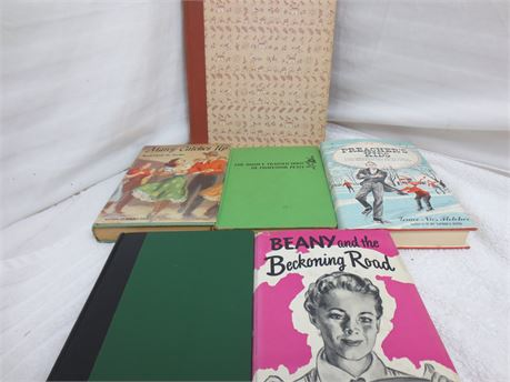 Lot of Vintage Books from the 1950s