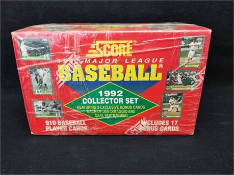 Score 1992 Major League Baseball Collector Set