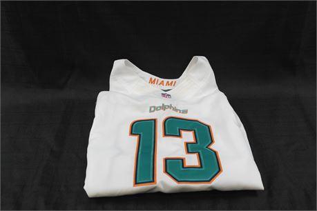 Nike Dan Marino  # 13  Miami Dolphins Jersey Mens Size 44 White