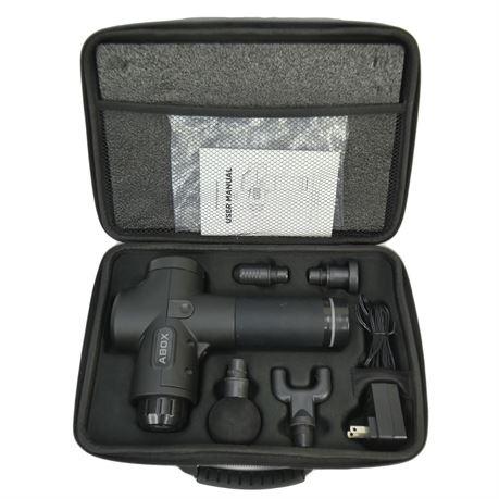 ABOX MG-009 Professional Deep Tissue Wireless Portable Massage Gun 3300RPM Quiet