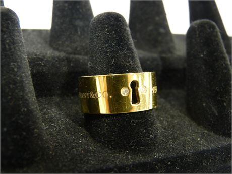 Tiffany & Co. New York Key Hole Ring