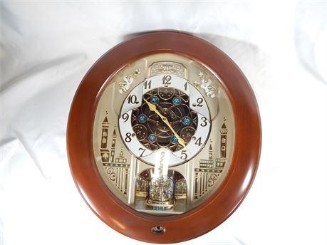 Seiko Wall Clock Melodies in Motion QXM291B (270r1s2)