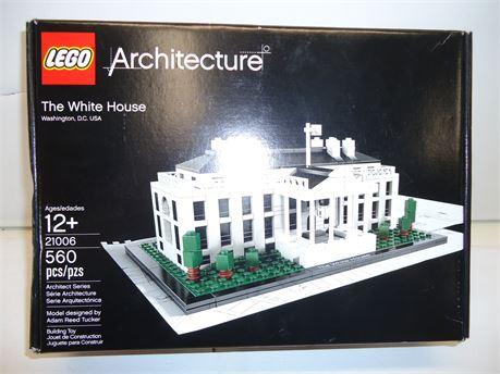 "Lego Architecture""The White House"" #21006/560pcs.NIB"