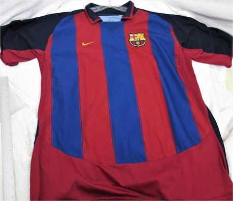 Football Club Barcelona Ronaldinho Nike Jersey