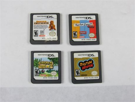Nintendo DS Video Game Lot of 4 #VG5 (650)