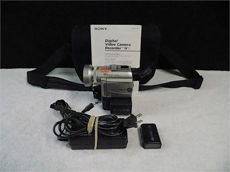 Sony DCR-PC100 MiniDV Camcorder; Tested!