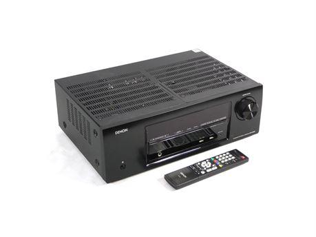 Denon AVR-E300 5.1 Channel Home Theater Receiver 1080P HDMI DTS-HD w/Remote