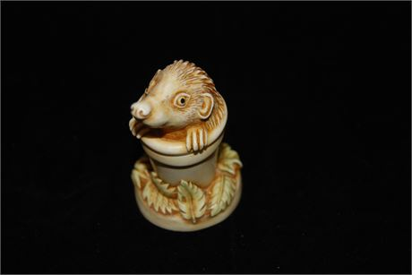 """Harmony Kingdom  """"Pot Sticker"""" Handmade Boxes Crafted in the UK (500)"""