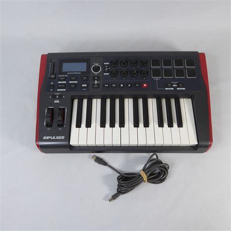 Novation Impulse 25, Midi Controller Keyboard