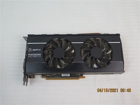 XFX AMD Radeon HD 6870 HD-687A-ZD 1GB DDR5 Graphics Video Card (670)