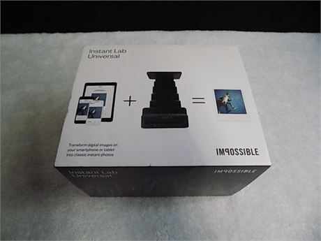 Impossible Instant Lab Universal: Transform Digital Images into Instant Photos