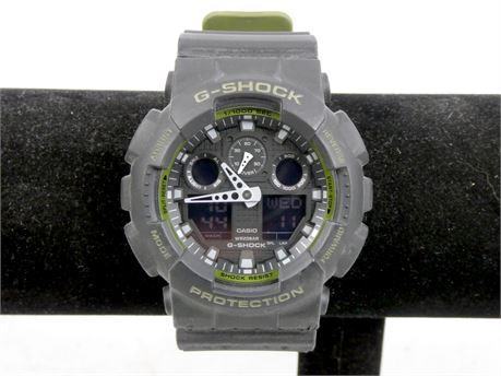 Casio G-Shock 5081 GA-100L Black/OD Green Wrist Watch for Men