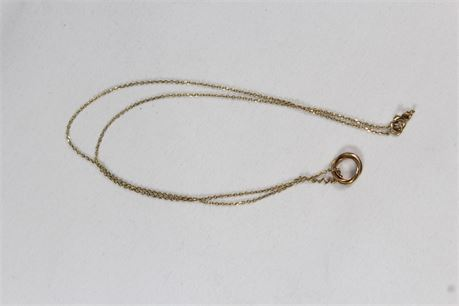 14k Yellow Gold (Unisex) Necklace 1.89 Grams