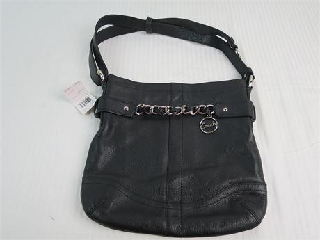 Coach Black shoulder Bag-H1295-F19722-New (670)