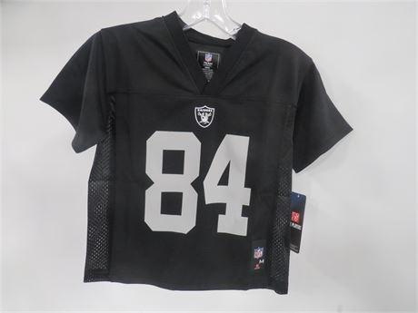 Raiders #84 Brown Jersey (230-LV5JJ)