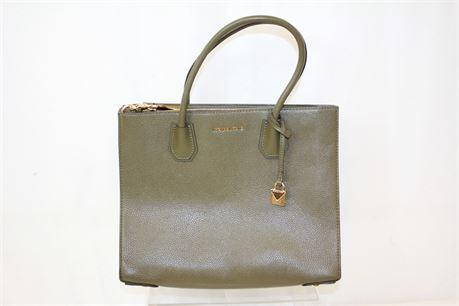 Michael Kors Army Green Shoulder Bag
