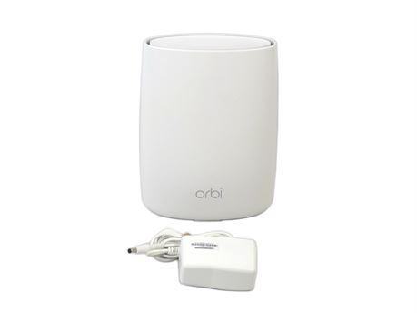 Netgear Orbi RBS50 AC3000 Satellite Tri-Band WiFi Mesh Extender 4-Port