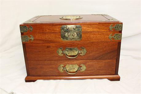Large Chinese Jewelry Box