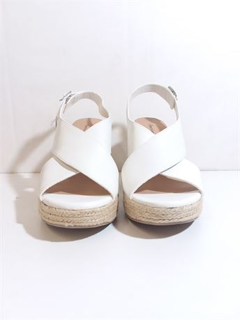 NWT! American Eagle White Heels For Women Size 11