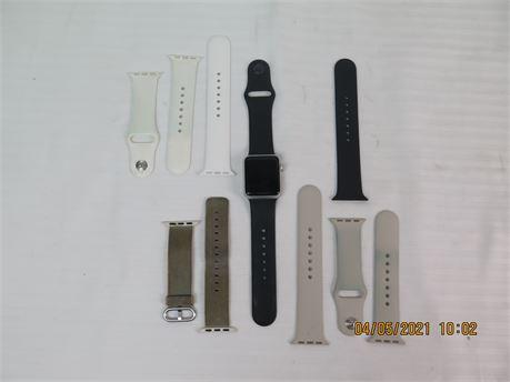 Apple Watch Series 0 Sport 38mm Aluminum A1553 8GB Smartwatch UNTESTED (670)