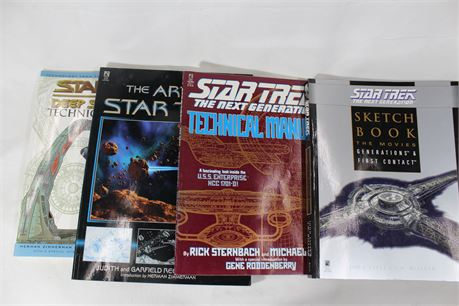 Star Trek Books, 4 Total