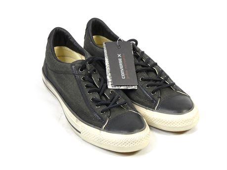 Converse X John Varvatos Shoes Black/Gray 151298c Men's 8 Women's 10 |NEW|
