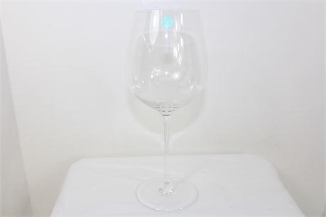 "Tiffany & Co Authentic 10"" Wine Glass"