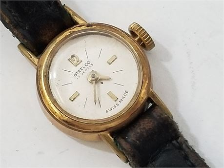 Steelco 17 Jewels Watch. (NOT TESTED)