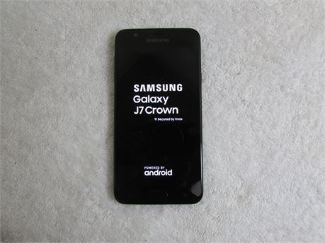 Samsung Galaxy J7 Crown Android -Black (TracFone) Smartphone
