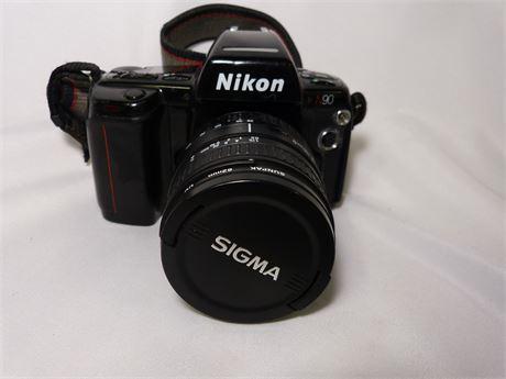 Nikon N90 Film Camera