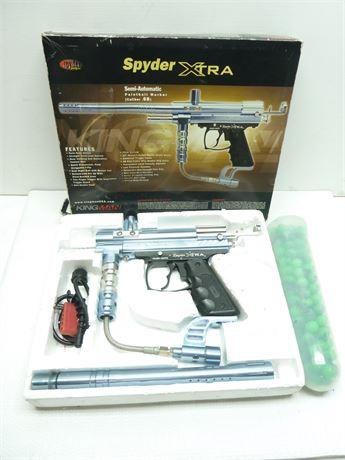 Spyder XTRA Paint Ball Gun & Cannister Of Paintballs.