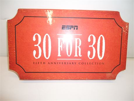 ESPN 30 For 30 Fifth Anniversary Collection 20 Blu Ray Disc Set NIB