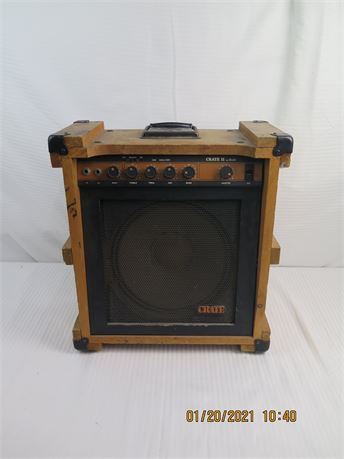Vintage 1970's Crate II by SLM CR-II Solid State Guitar Amplifier (670)