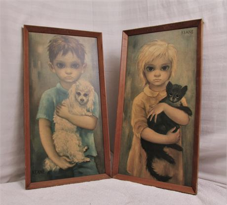 Margaret Keane  Big Eyes Set No Pets Allowed and The Stray
