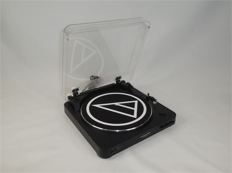 Audio-Technica AT-LP60 Stereo Turntable (Black)