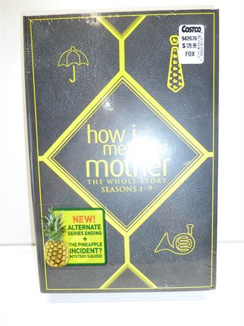 How I Met Your Mother, DVD Set(The Whole Story,Seasons 1-9) NIB