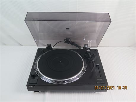 Sony PS-LX350H Belt-Drive Stereo Turntable System 1999 (670)