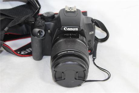 Canon Eos Rebel XS, W/ Bag & Accessories