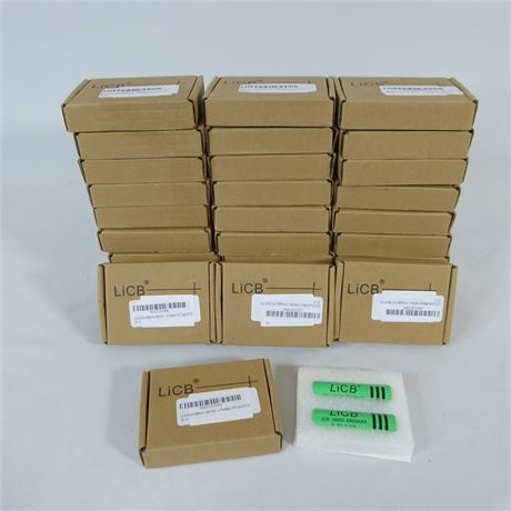 62 Rechargeable 3.7 V Lithium Ion Batteries, LiCB ICR 18650 6800mAh, NEW