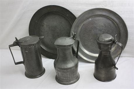 Vintage Pewterware