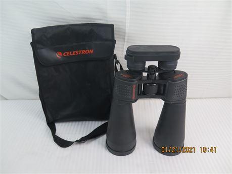 Celestron SkyMaster 15x70 Long Eye Relief FOV 4.4-degrees Binoculars w/ Case