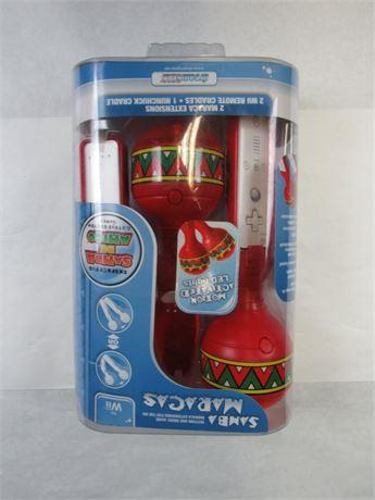 Samba Maracas for Nintendo Wii (650)