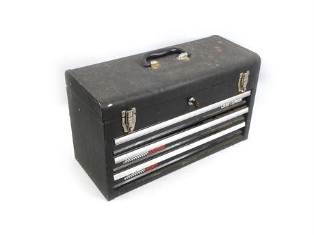 Craftsman Model 653920 3-Drawer Rally Box Tool Chest w/Key