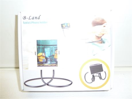 B-Land Tablet/Phone Holder ,With Multiple Functions NIB
