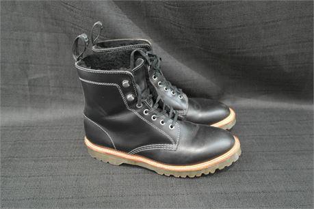 Dr Martens Mens Black Boots Size 10m