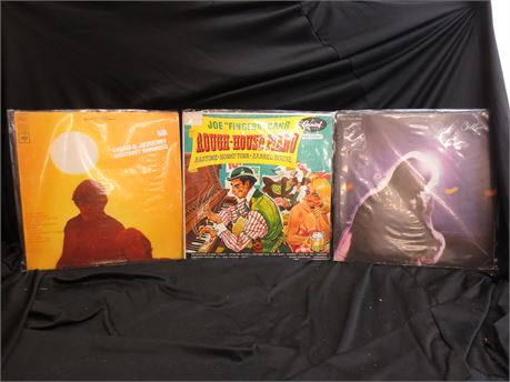 """3 Random Records by Joe """"Fingers"""" Carr, Judy Collins, and Chad and Jeremy"""