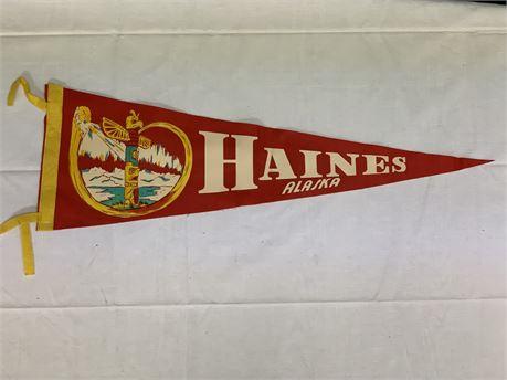 Haines Alaska Banner