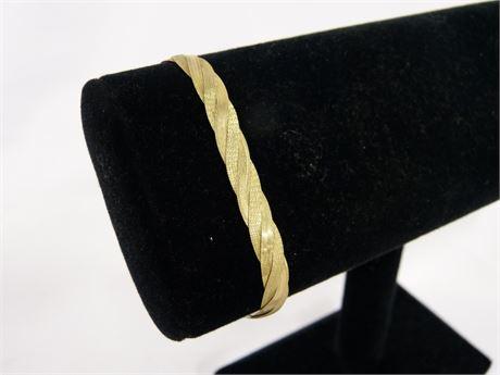 14kt Italy Gold Wearable Bracelet 6g