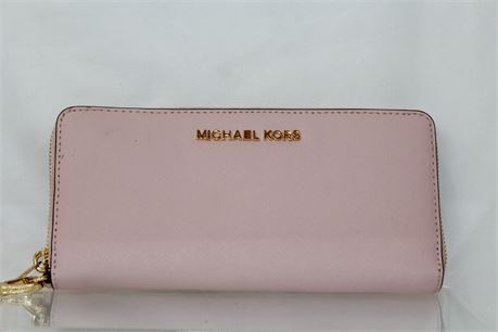 Michael Kors Pink Wallet