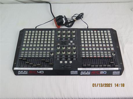 Akai Professional Ableton APC 40+APC 20 (APC 80) Live MIDI Controller (670)